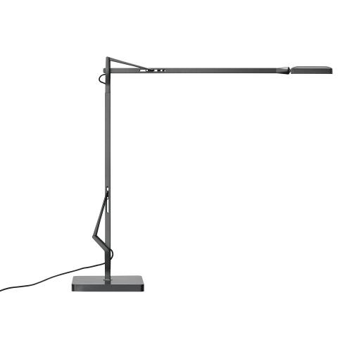 Flos Kelvin edge base tafellamp titanium