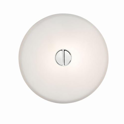 Flos Mini Button Wandlamp wit