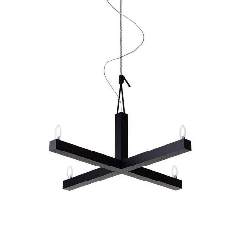Hollands Licht King Arthur Hanglamp 90 cm Zwart