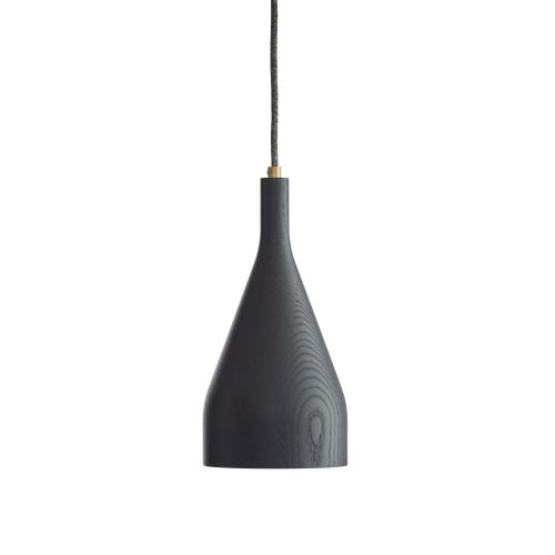Hollands Licht Timber Hanglamp 14 cm Zwart