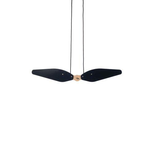 Hollands Licht Manu Hanglamp Zwart