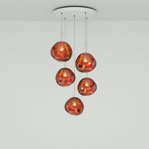 Tom Dixon Melt Mini Round Hanglamp Koper
