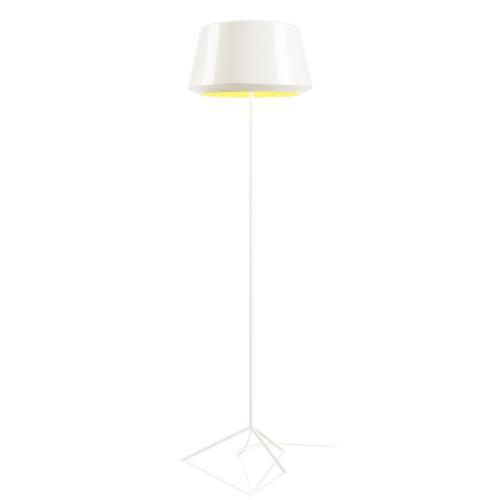 Zero Can Vloerlamp Wit