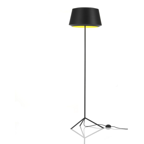 Zero Can Vloerlamp Zwart