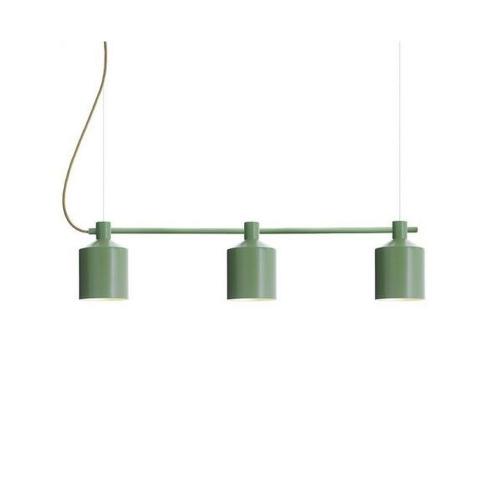 Zero Silo Trio Hanglamp groen