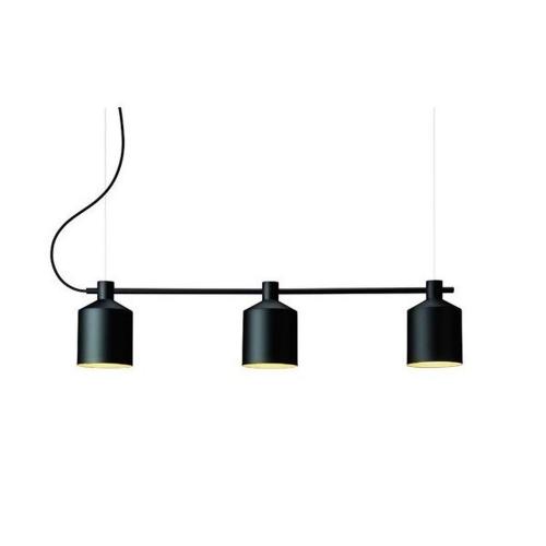 Zero Silo Trio Hanglamp zwart