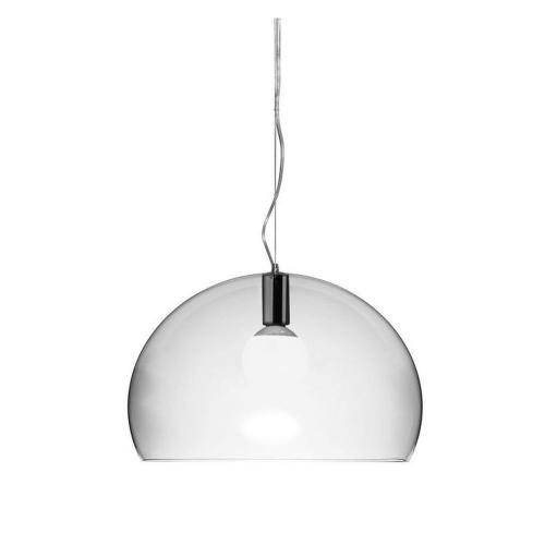 Kartell Fly Dia Hanglamp Transparant Ø 52 cm