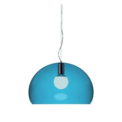 Kartell Fly Hanglamp Blauw
