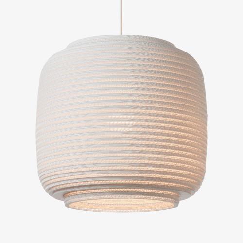 Graypants Scraplight Ausi 14 Hanglamp Wit 36 cm