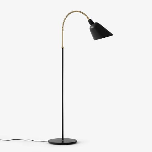 Bellevue Vloerlamp Zwart