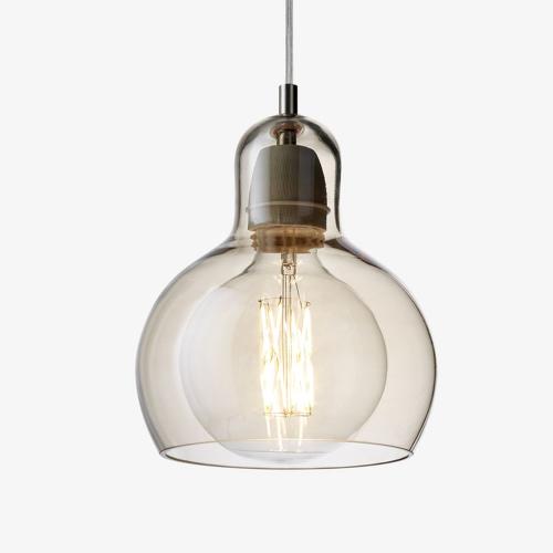 Mega Bulb Hanglamp Goud-Transparant