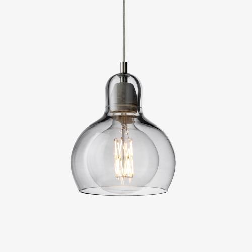 Mega Bulb Hanglamp Zilver-Transparant